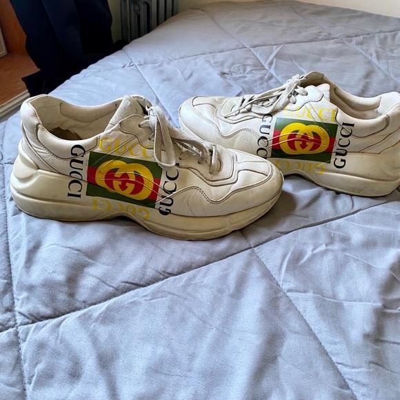 Gucci Shoes | Mens Gucci Sneaker | Poshmark